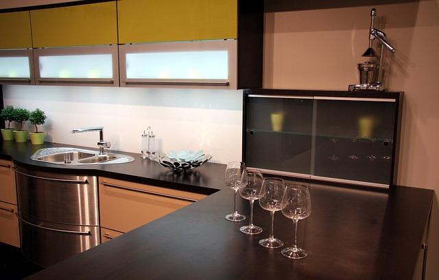 Megfelelő kialakítás a konyhában