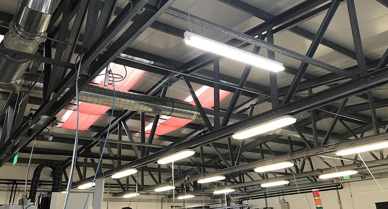 LED csarnokvilágítás referenciák